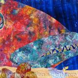 Finlay Fish - page 9 - acrylic collage