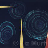 Red onion - limited edition photogram