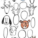 Animal Faces -