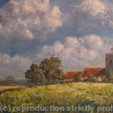Barley Fields (2011) #2084 - Oil on Canvas
