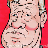 Fizzers - Sir Alex Ferguson - Pen & Ink