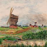 Old Mill on Moseley Common, c.1820 - Watercolour