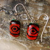 Glass Earrings Maya -