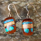 Glass Earrings Maple Valley -