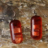 Glass Earrings Oakheart -