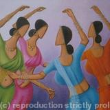 Dancers 6 - acrylic on canvas