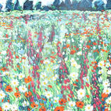 Meadow 1 - Acrylic on board