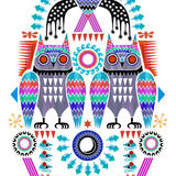 rainbow owls - 