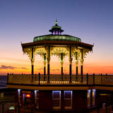 Bandstand Afterglow - Photography