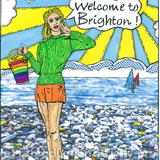 Welcome to Brighton! - print