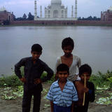 back of Taj Mahal - photo