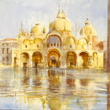 San-marco, Cecil rice - watercolour