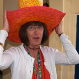 big hat for Foredyke Primary carnival -