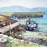 Purteen, Achill Island, Co.Mayo, Ireland - Watercolour