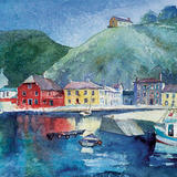 Passage East, County Waterford, Ireland - Watercolour