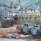 Polperro, Cornwall - Pen and watercolour