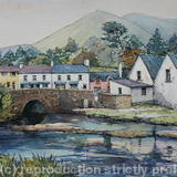 Leenane, County Connemara, Ireland - Pen and watercolour