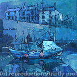 Staithes, North East Yorkshire - Acrylic Knife Painting