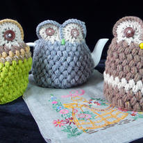 hidden 3 tea cosies by Handmade&#8230;