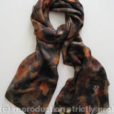 Silk Scarf item 2702 - 100% Silk