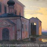 """Conception Church Anna"" - Oil on canvas"