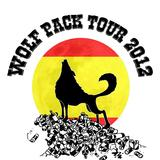 Wolf Pack tee design - Zigg scroll and brush inks with photoshop CS2 tidying and colours.