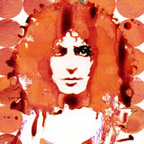 Marc Bolan - Pen, ink & photoshop