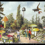 Kew Gardens has Changed - Collage