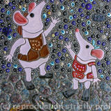 The Clangers - Glass Fusions, Millefiori and Mexican Smalti
