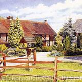 Surrey Cottage - watercolour