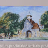 Beaulieu Abbey Gate - Watercolour