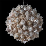 romanesco pendant - polyester resin, fibreglass, LED's