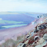 408 Curbar Edge - March - pastel