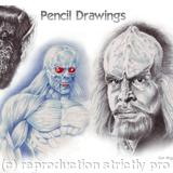 Drawings - pencils