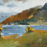 Upper Loch Torridon - Oil on Board