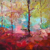 Autumn Lustre no.2 - Acrylic