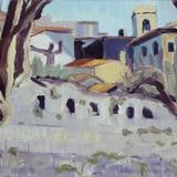 St. Paul de Vence - oil on board