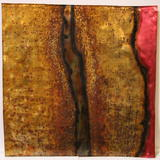 Woody Woodill Wall Art - Kiln Fired Copper Panel