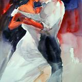 tango - watercolour on Arches