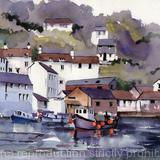 POLPERRO - watercolour