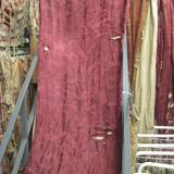 C1812 Shredded Red Silk Damask -