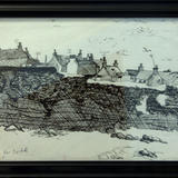 Broadsea Drawing - Pen and ink sketch