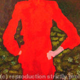 Woman in red - 