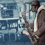 Sax The No 12 Bus - Etching