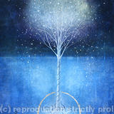 Snow Tree - boxed & framed giclee print