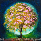 Aura Tree - boxed & framed giclee print