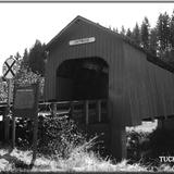 Chitwood Covered Bridge - Oregon coast -