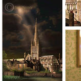 Norwich cathedral from the south - Digital art