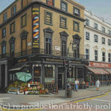 Prince Alfred Pub, Bayswater - Oil on Canvas