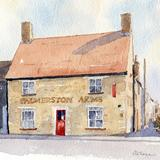Palmerston Arms, Peterborough - watercolour